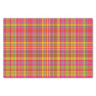 Tutti Frutti PLAID-3-TISSUE WRAPPING PAPER