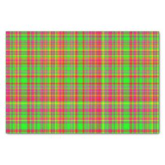 Tutti Frutti PLAID-7-TISSUE WRAPPING PAPER