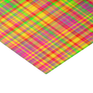 Tutti Frutti PLAID-9-TISSUE WRAPPING PAPER