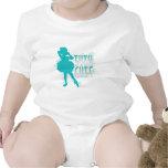 TuTu Cute (Aqua) T-shirts