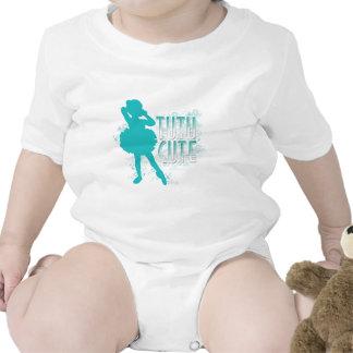 TuTu Cute Aqua T-shirts