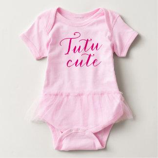 Tutu cute baby girl body suit baby bodysuit