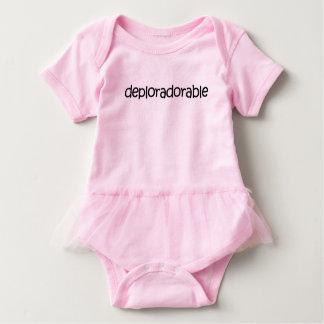 Tutu Cute! Deplorably adorable tutu bodysuit! Baby Bodysuit