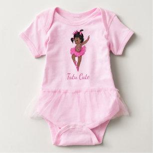 Tutu Cute Ethnic Vintage Princess Baby Ballerina Baby Bodysuit