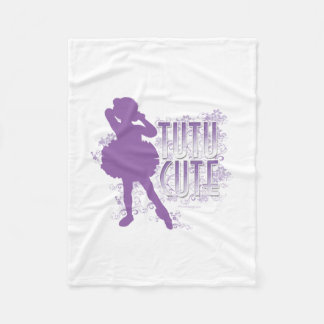 Tutu Cute Fleece Blanket