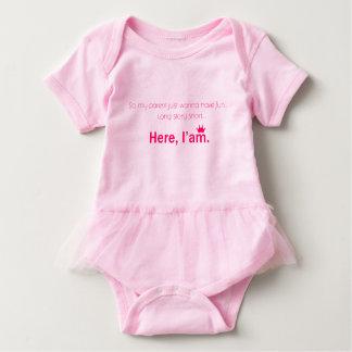 Tutu for Princess Baby Bodysuit