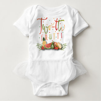 TUTU ONSIE OUTFIT | Two-tti Frutti Birthday Party Baby Bodysuit