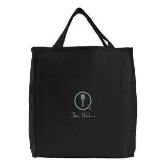 Tutu Wahine's Embroidered Tote Bag