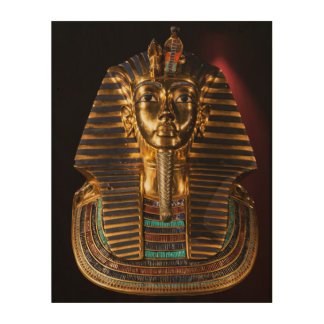 Tutunkhamun King Egypt Golden Death Mask Wall Art