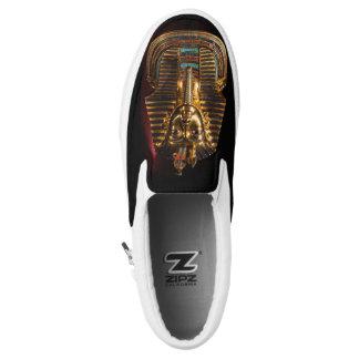 Tutunkhamun King Tut Egypt Golden Slip On Sneaker