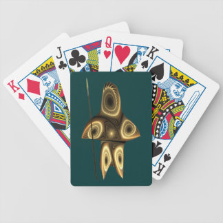 Tuvaaq - Fractal Inuit Hunter Bicycle Playing Cards