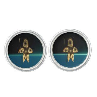 Tuvaaq - Fractal Inuit Hunter Cufflinks