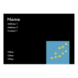Tuvalu Pack Of Chubby Business Cards
