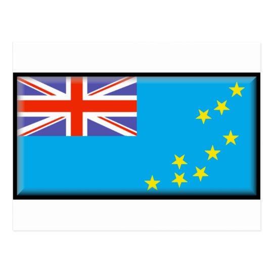 Tuvalu Flag Postcard