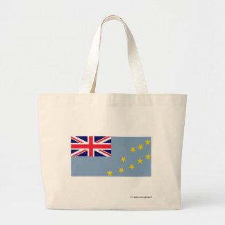 Tuvalu Flag Jumbo Tote Bag