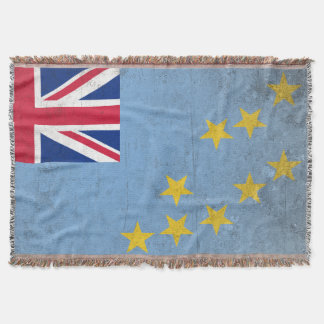 Tuvalu Throw Blanket
