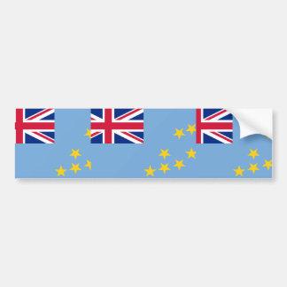 Tuvalu, United Arab Emirates flag Bumper Sticker