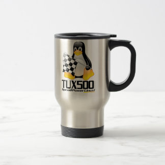 Tux500.com Stainless Stainless Steel Travel Mug