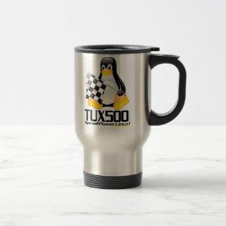 Tux500.com Stainless Travel Mug