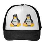 Tux Linux Geek Mesh Hat