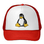 Tux Penguin - (Linux, Open Source, Copyleft, FSF) Cap