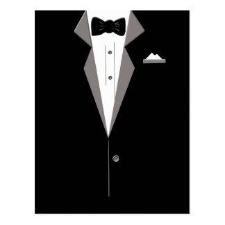 Tuxedo Art Postcard
