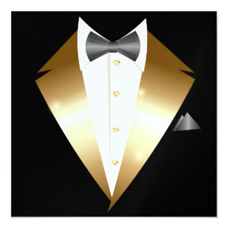Tuxedo Black Tie Event INVITATION