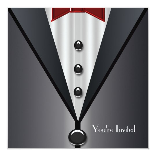 Tuxedo Black Tie Formal Event Black Tie Party
