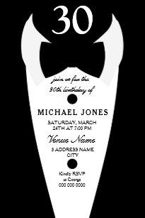 30th birthday invitations zazzle uk