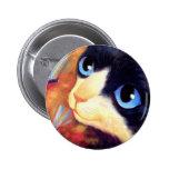Tuxedo Cat Art - Multi Pin