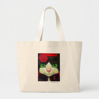TUXEDO CAT BAG