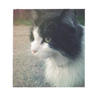 Tuxedo Cat Notepad