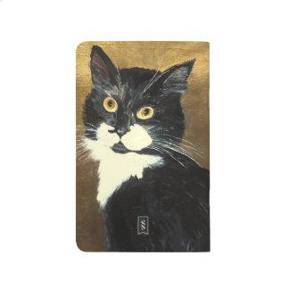 Tuxedo Cat - Pocket Journal