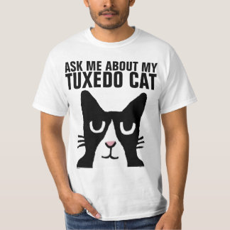 TUXEDO CAT t-shirts and sweatshirts