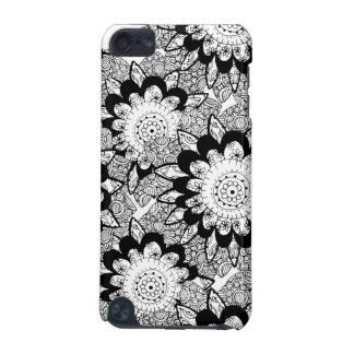 Tuxedo Doodles ipod touch case