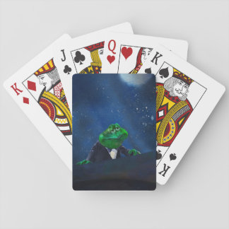Tuxedo Frog at Piano  #2 Playing Cards