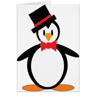 Tuxedo-Pengo Greeting Card