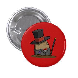 Tuxedo Potato 3 Cm Round Badge