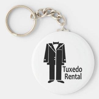 TUXEDO RENTAL KEYCHAIN