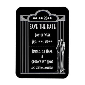 Tuxedo (Save The Date Magnet) Magnet
