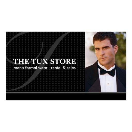 Tuxedo Shop - Business Card