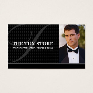 Tuxedo Shop - Business Card