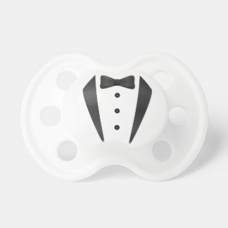 Tuxedo wedding gifts and props for groom baby pacifiers