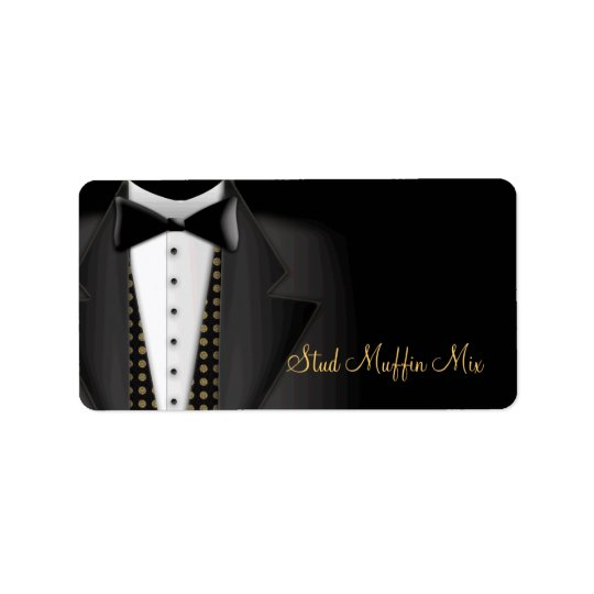 Tuxedo Wedding Labels