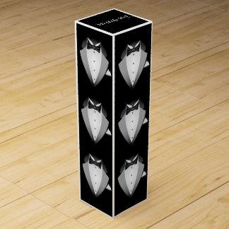 Tuxedo Wine Box - SRF