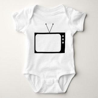 tv01transparent01 baby bodysuit