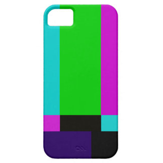 TV bars color test iPhone 5 Case