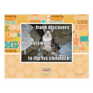 TV Childlock Postcard