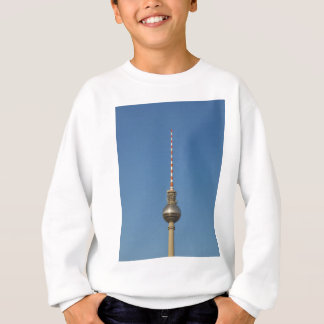 TV Fersehturm (Television tower) in Berlin Germany Sweatshirt