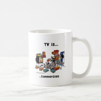 TV is... Commercials Coffee Mug
